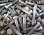 Marine Hardware - Galvanised Nuts and Bolts