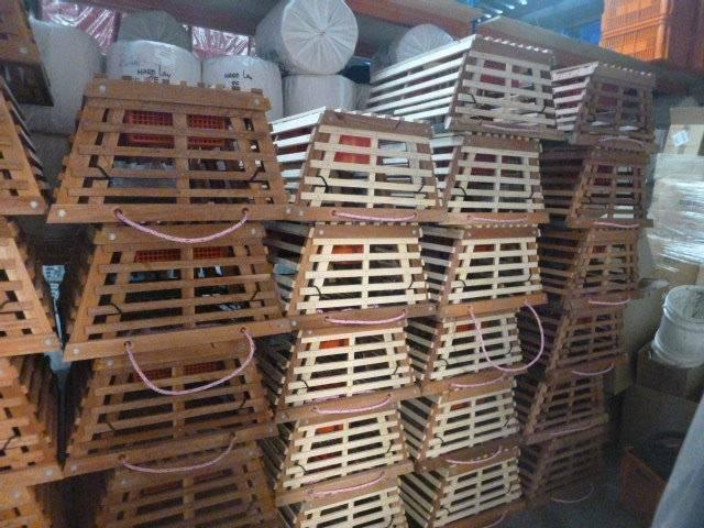 Timber craypots